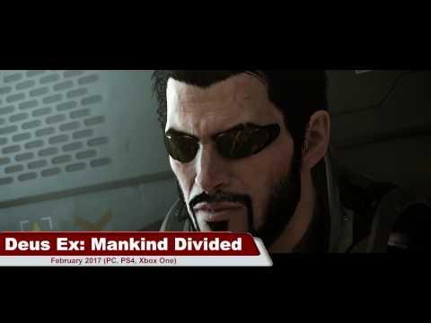 DEUS EX: Mankind Divided - NEW GAMES 2017 (RPG) |