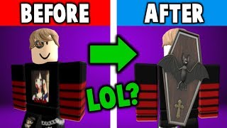 LOL! Roblox really messed up this hat!!!! (Coffin BatPack)