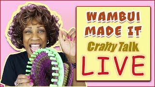 'LIVE': Crafty Talk - The Power of Crafting