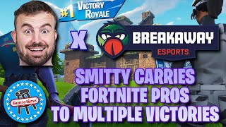 The Best Worst Fortnite Player Smitty Leads Gaming Pros To Multiple Victory Royales
