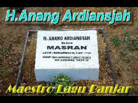 Lagu Banjar asli 1962.  Kambang Gujang (Kembang Goyang) # Anang Ardiansjah.
