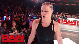 Download Ronda Rousey continues to brutalize Becky Lynch after Raw: Exclusive, March 4, 2019 Mp3 and Videos