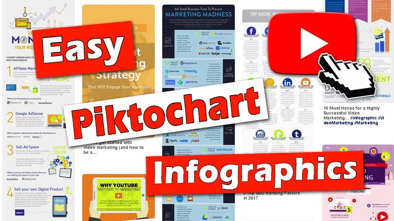 Create a Piktochart Infographic Easily - Basic Tutorial ...