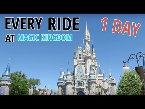 Riding every ride at The Magic Kingdom in one day! (Part 2)