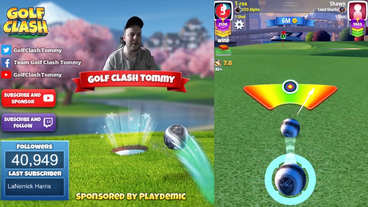 Golf Clash Tips Playthrough Hole 1 9 Pro Expert Skyline Cup Tournament Youtube