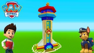 Minecraft Tutorial: How To Make The Paw Patrol Headquarters