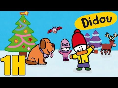 1 heure de Didou, didou dessine moi l'Hiver | Compilation Spécial Hiver & Noël