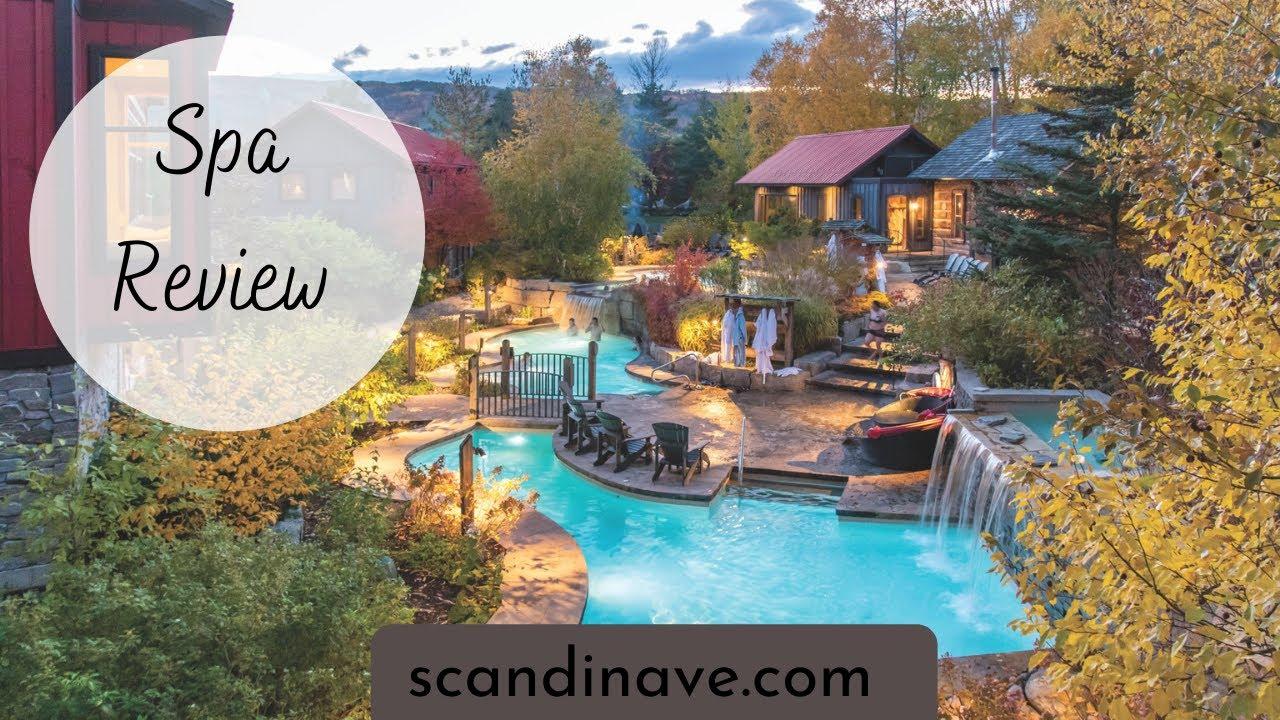 Scandinave Spa Blue Mountains Scandinavian Baths Ontario Review Youtube