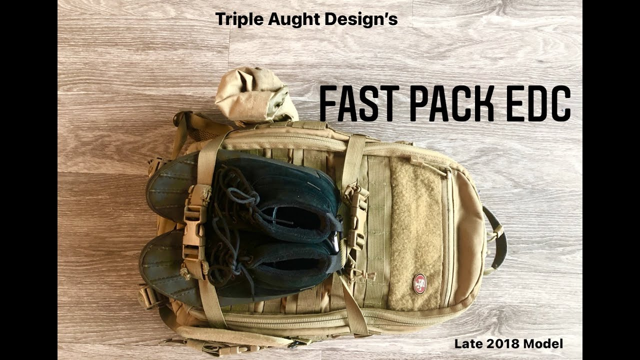 Triple Aught Design Fast Pack EDC (2018) Review