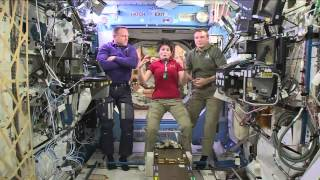 Astronauts Share Out of This World Experience with Students