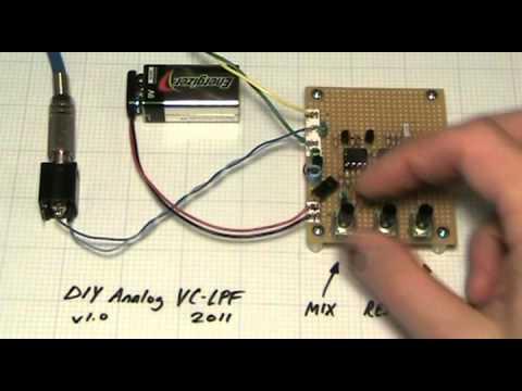 DIY Analog VC-LPF filter