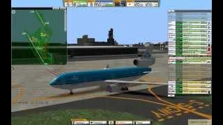 ATC3 Narita World Wings RJAA self-made stage Heavy Heavy Traffic
