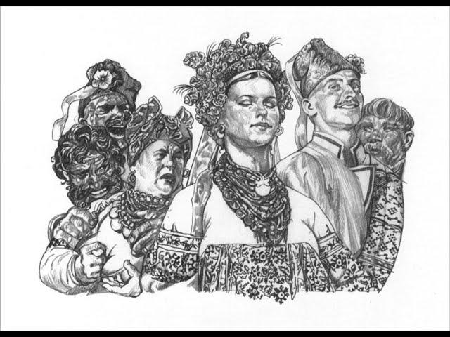 Изображение предпросмотра прочтения – ОльгаНасонова читает отрывок изпроизведения «Ночь перед рождеством» Н.В.Гоголя