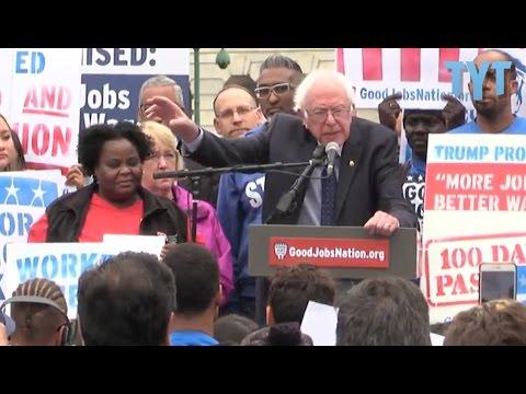 BREAKING: Bernie Sanders Introduces HUGE Minimum Wage Bill