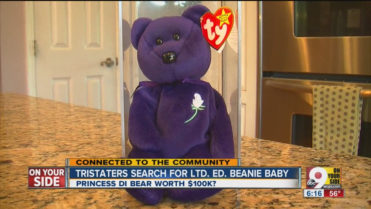 Beanie Babies have Tri-Staters on the search - YouTube 444f8f746529