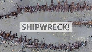 嵐に煽られその姿を現わしたのは、160年以上前の沈没船だった(アメリカ)