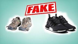 Кроссовки Adidas NMD R1 real vs fake. Как отличить подделку от оригинала?