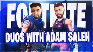 WINNING WITH ADAM SALEH ! (PRO FORTNITE PLAYER)