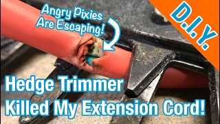 How To Repair A Damaged Extension Cord - (EASY!)