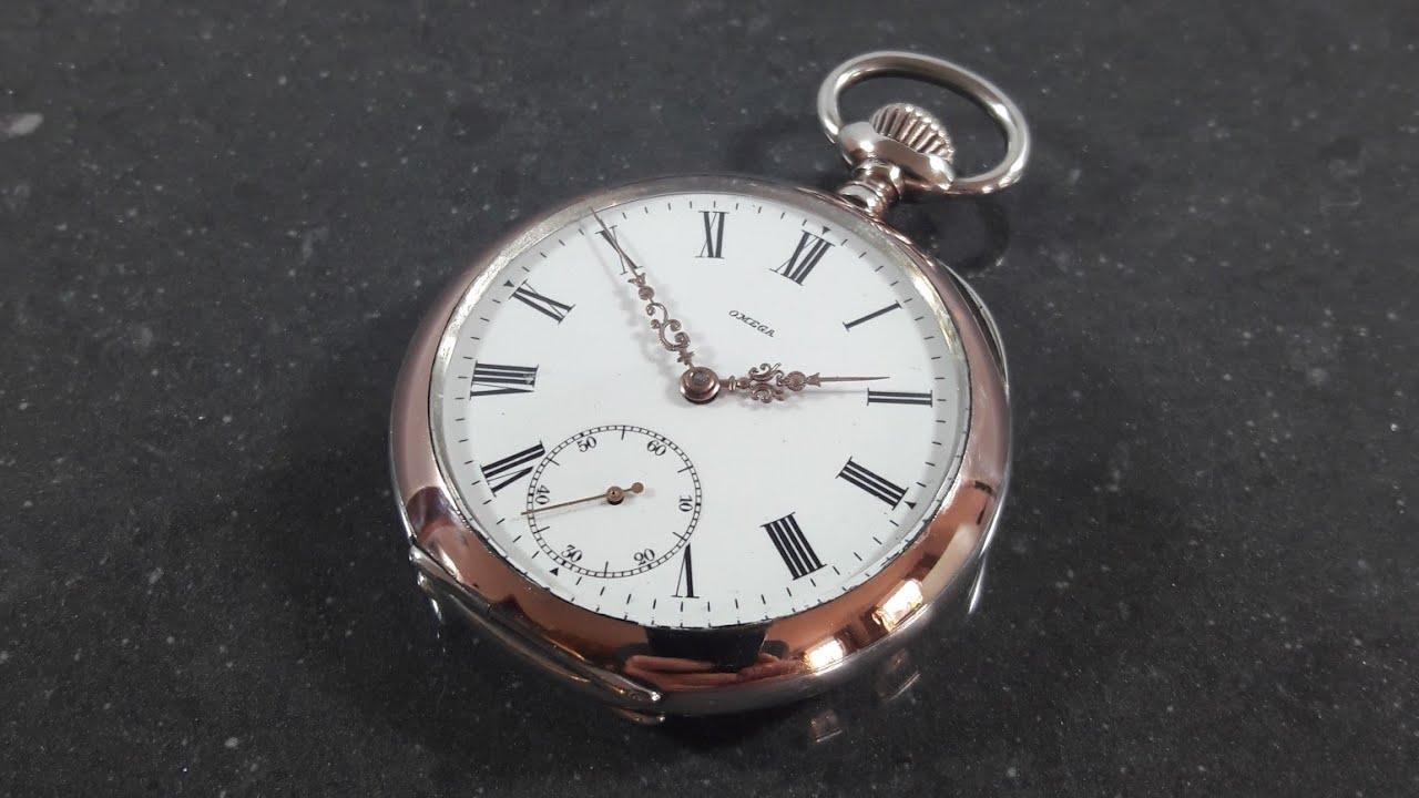 Omega 1900 Paris Grand Prix Pocket Watch 800 Silver ...
