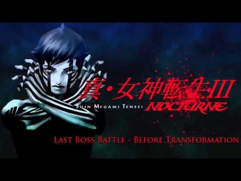 Last Boss Battle - Before Transformation - SMT III: Nocturne