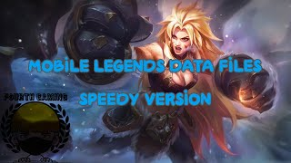 CHOU gameplay w/ MOBILE LEGENDS DATA FILE (masha speedy version)