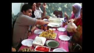 エジプト、ラマダン断食月、家族と食事会