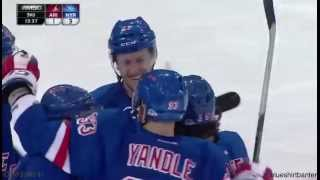 Rangers vs Coyotes - 10/22/15 - Keith Yandle goal