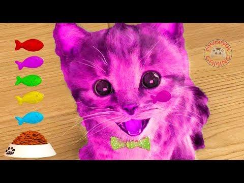 Little Kitten My Favorite Cat Pet Care - Play Cute Kitten Animation Mini Games For Children #5