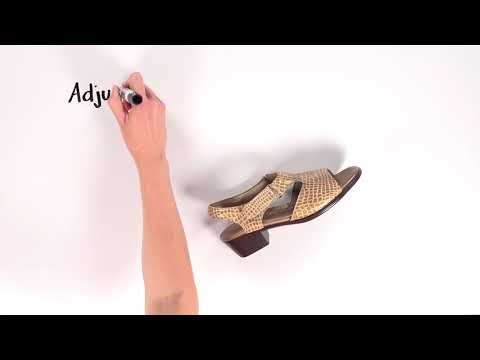 Video for Suntimer Heel Strap Sandal this will open in a new window