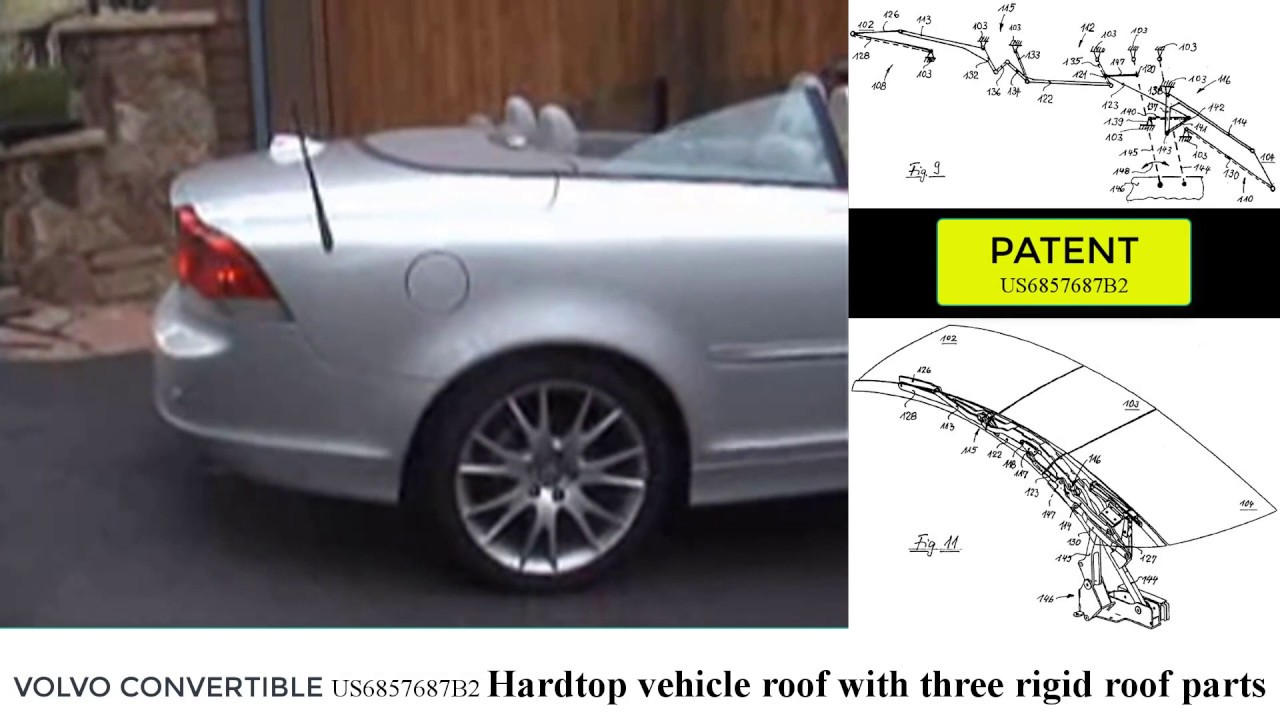 hight resolution of volvo c70 convertible linkage mechanism