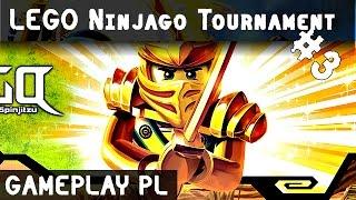 LEGO NINJAGO TURNIEJ ŻYWIOŁÓW GRA #3 | LEGO Ninjago Tournament | LLOYD vs MASTER CHEN