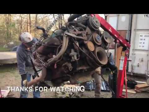Picking up a 440 engine and 727 transmission for my 1969 Dodge Charger B Body Project