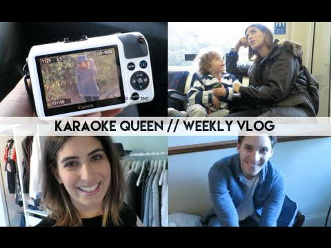 Karaoke Queen // Lily Pebbles Weekly Vlog