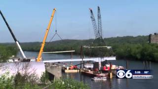 Construction Begins On Amsterdam Pedestrian Bridge