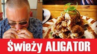 Jak smakuje świeży ALIGATOR?