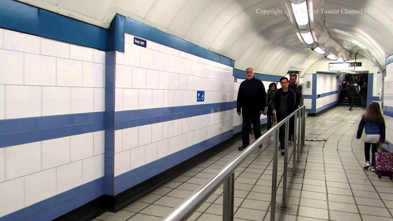 Changing Trains at Green Park Tube Station in London  YouTube