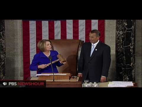 Nancy Pelosi Praises Incoming Speaker John Boehner