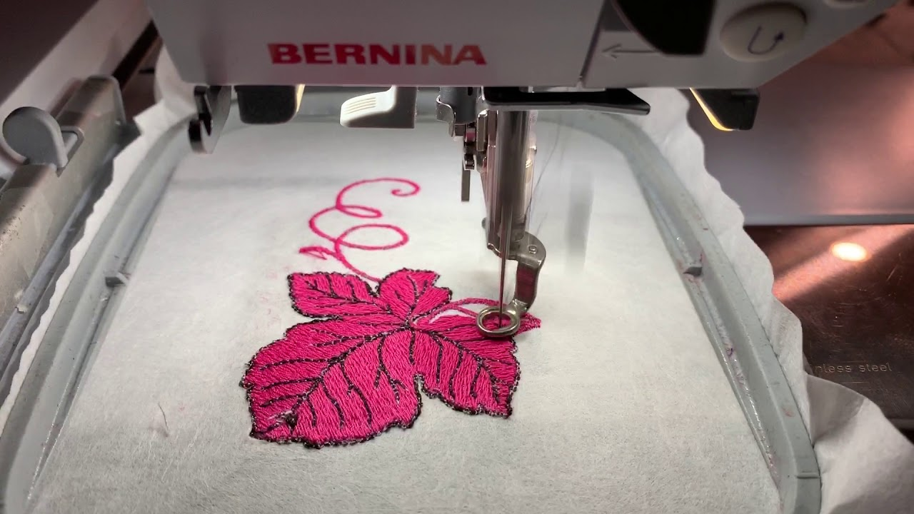 Bernina Artista 200 Embroidery Demonstration