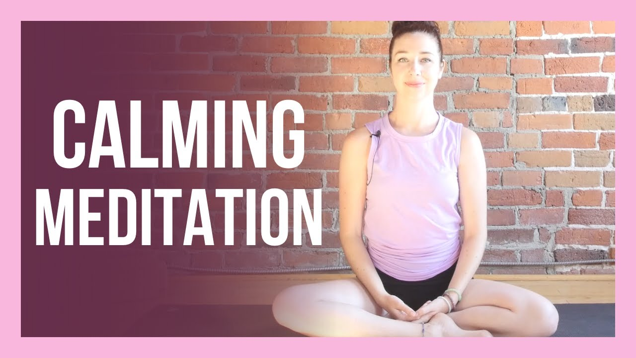 Guided Affirmation Meditation for Stress & Anxiety - CALMING Meditation