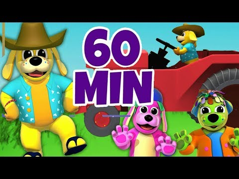 Nursery Rhymes Party Songs | Farmer in the Dell | Kids Songs To Dance To Raggs TV