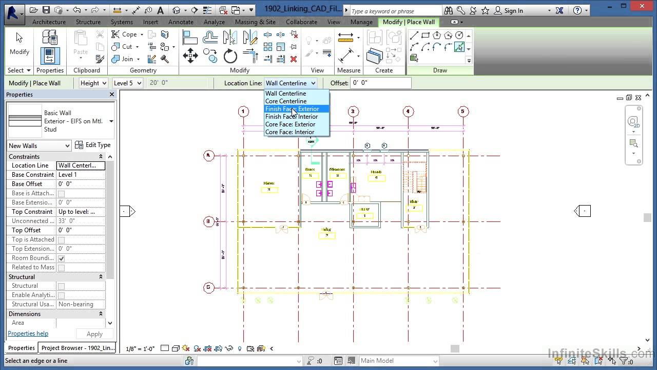 how to work in revit architecture
