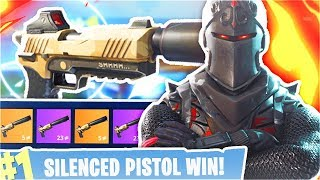 NEW EPIC *SILENCED PISTOL* LEGENDARY DLC WEAPON UPDATE!! (Fortnite Battle Royale Silenced Pistol)