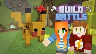 """""""PIKACHU""""   Team Build Battle   (Minecraft Minigame)   Marielitai Gaming"""