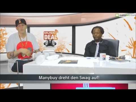 MusicDeal mit Mola Adebisi, Choukri und Money Boy