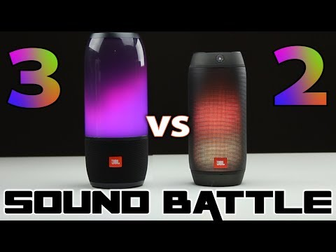 Sound Battle: JBL Pulse 3 vs Pulse 2 -The real sound comparison.