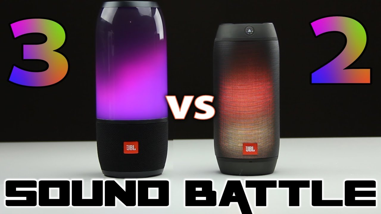 Sound Battle: JBL Pulse 3 vs Pulse 2 -The real sound comparison