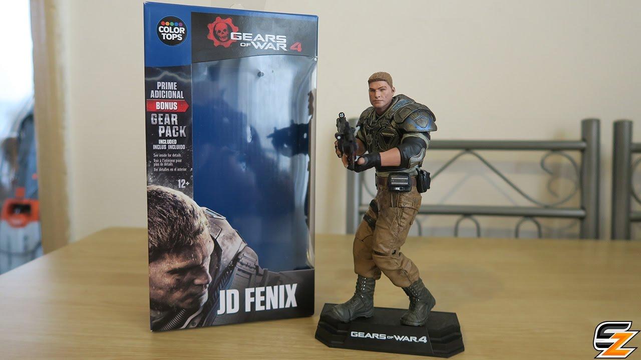 McFarlane Toys Gears of War JD Fenix Action Figure