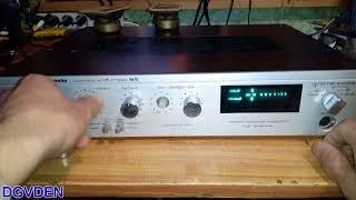 радиотехника У101 - первое включение