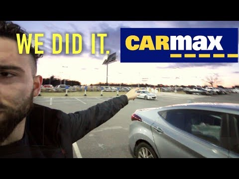 ACCEPTING THE FIRST YOUTUBE CARMAX OFFER. EVER.